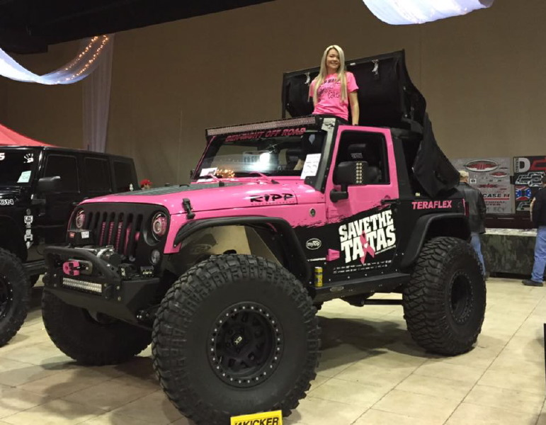 Rally Car Wallpaper Snow That Pink Jeep Girl Ladies Offroad Network