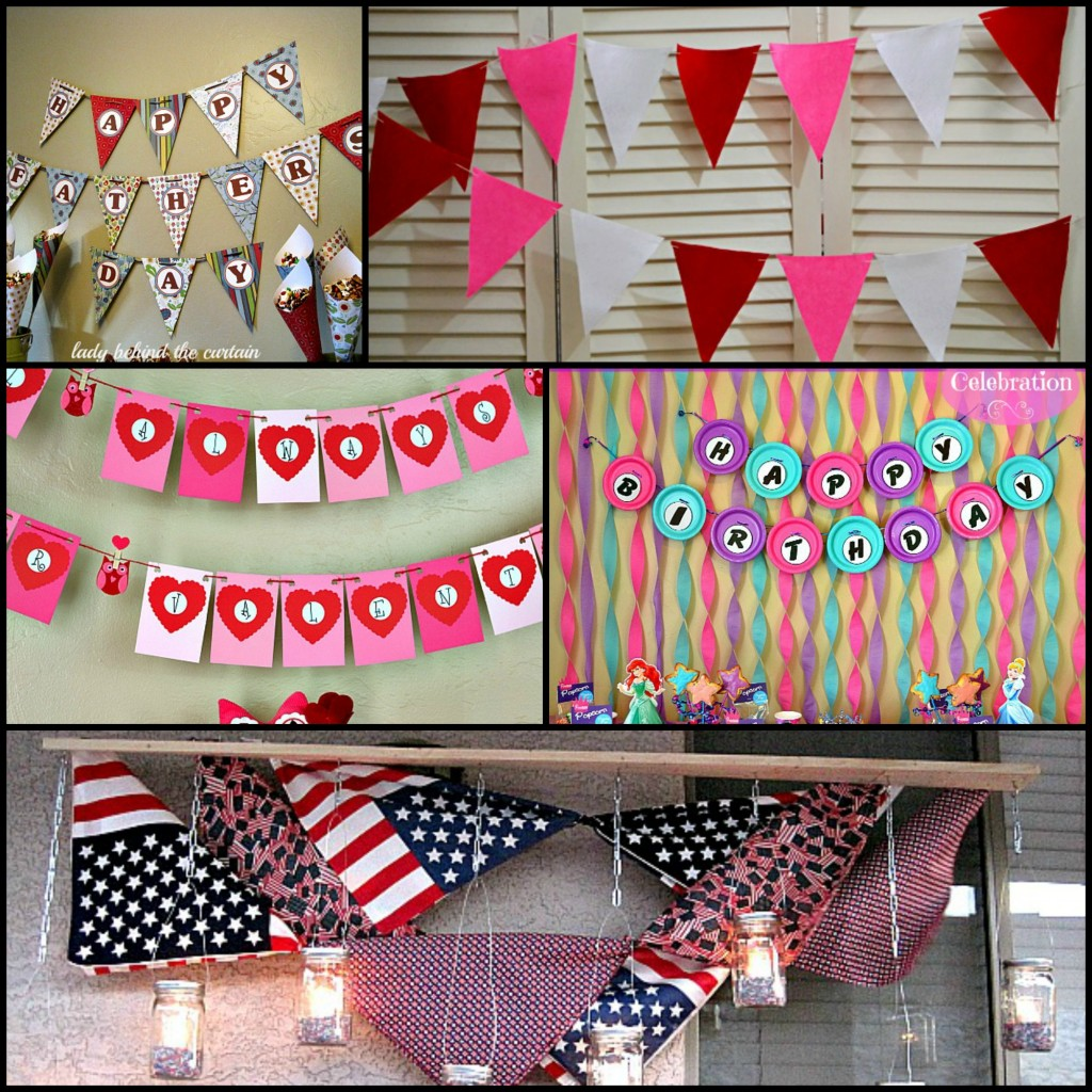 Tag archives scrapbook paper banner how to make an inexpensive and easy party banner lady behind the curtain