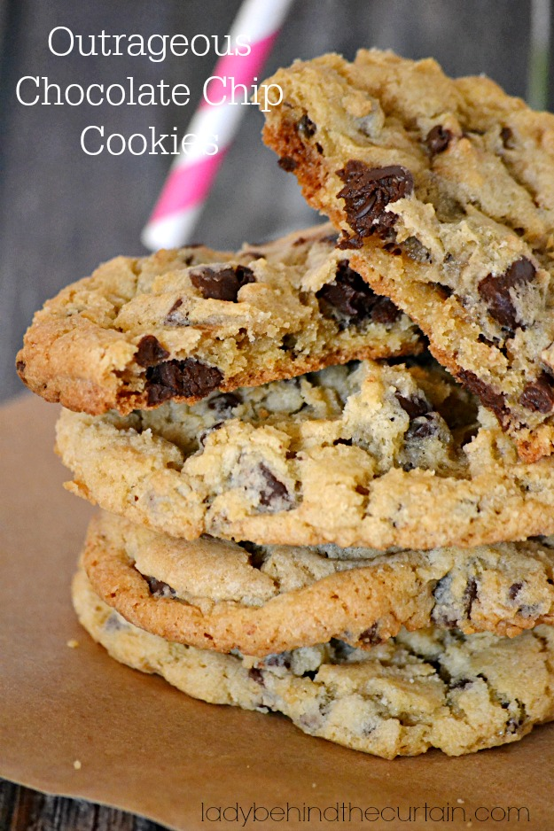Paleo Outrageous Chocolate Chip Cookies