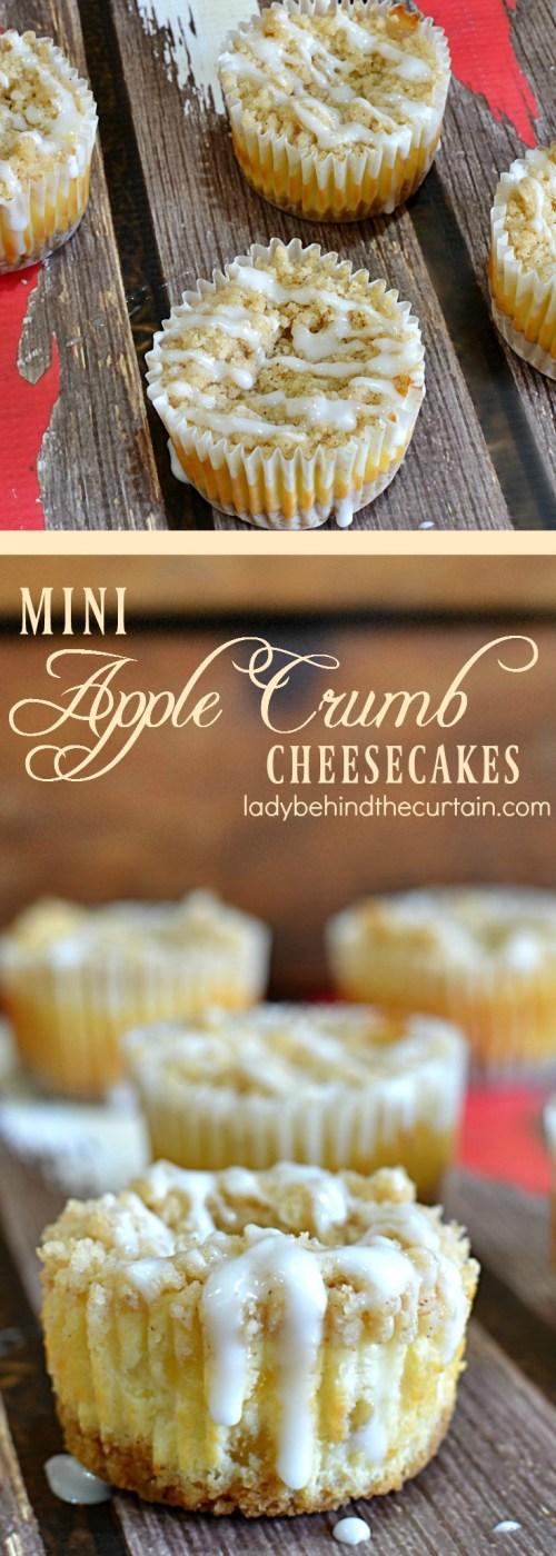 Medium Of Apple Pie Cheesecake