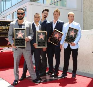 Backstreet Boys Hollywood Star02