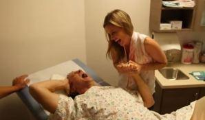 Gravidanza al maschile: quando è lui a provare i dolori del parto VIDEO