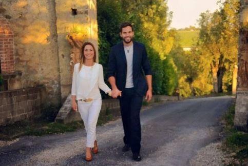 Brice Martinet si è (ri)sposato con la moglie Elena. Nozze religiose a Roma