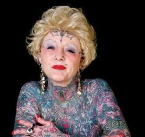 Addio a Isobel Varley: la nonna più tatuata del mondo FOTO