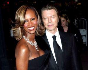 David Bowie, il messaggio della moglie Iman su Instagram FOTO