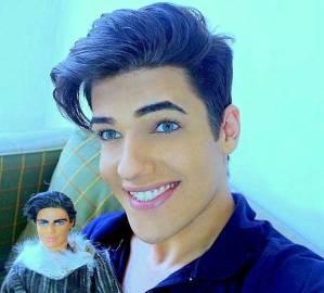 Celso Santebanes come Ken di Barbie: 38mila € in chirurgia, poi la morte