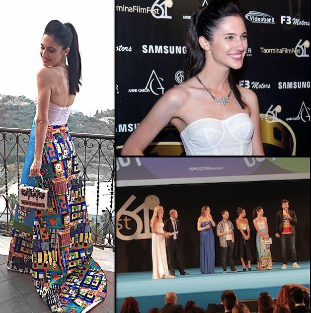 Lodovica Comello, la star di Violetta al Taormina Film Festival