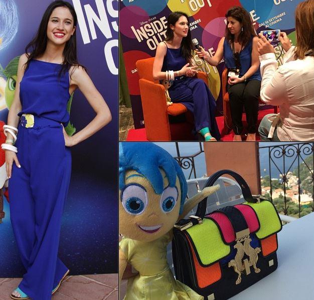 Lodovica Comello (Violetta), tutina blu e sandali per la cantante FOTO