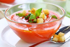 Ricette estive: gazpacho di pomodoro