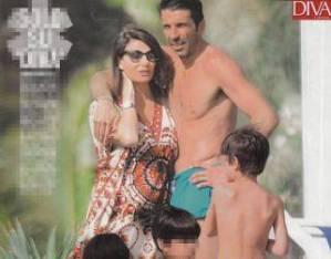 """Ilaria D'Amico incinta di Gigi Buffon? Diva e Donna: """"Figlio in arrivo"""""""