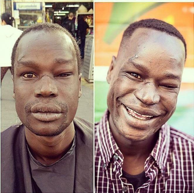 Nasi Sobhani, il barbiere che taglia capelli gratis ai barboni di Mebourne