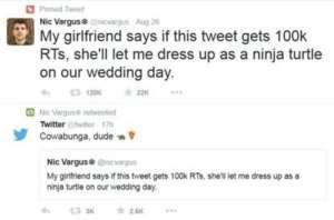 """""""Mi vesto da ninja al matrimonio se..."""" E il web lo accontenta3"""