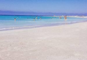 Rosignano, spiaggia caraibica a Livorno...ma niente è come sembra FOTO