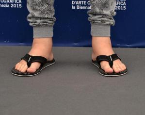 Jonathan Demme a Venezia in infradito e calzoni tipo pigiama 5