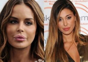 """Nina Moric insulta Belen Rodriguez: """"Sembri un viados"""""""