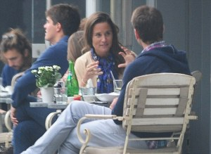 Pippa Middleton single esce con i suoi ex ma...