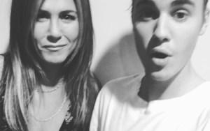 Justin Bieber, selfie con Jennifer Aniston e con Ben Stiller4