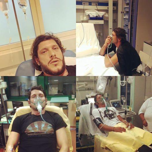 Aldo Montano in ospedale, atleta posta FOTO