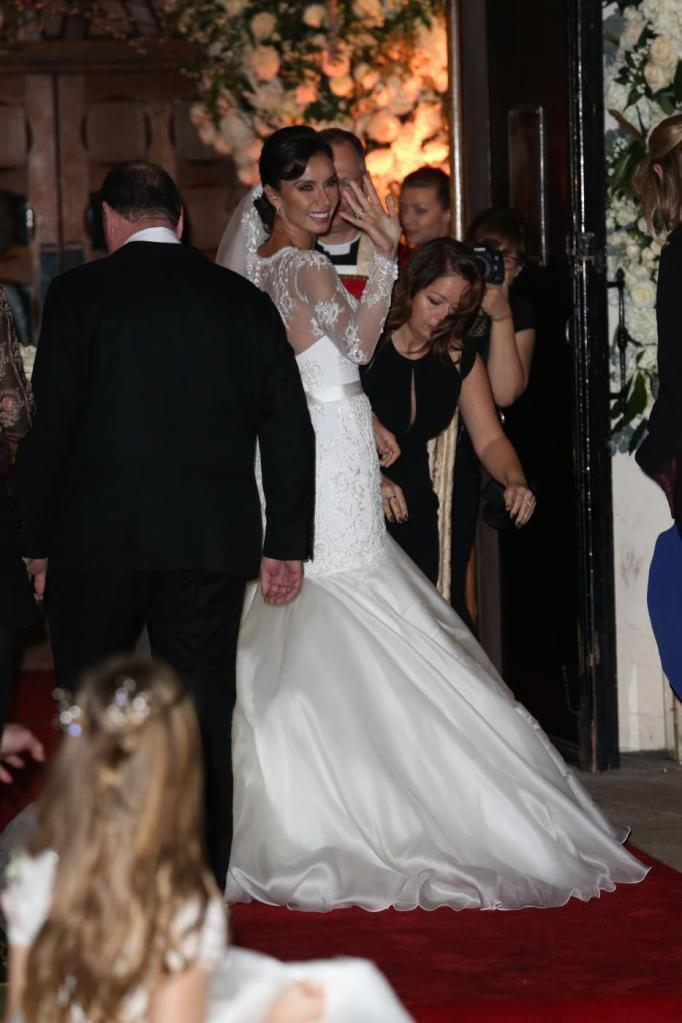 Frank Lampard sposa Christine Bleakley13