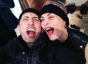 Charlotte Casiraghi, Gad Elmaleh con la moglie famoso regista...