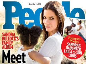 "Sandra Bullock si racconta su People: ""Ho adottato anche Layla"""