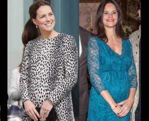 Sofia di Svezia come Kate Middleton: incinta con stile FOTO