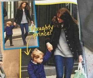 Kate Middleton: casual in jeans insieme a George FOTO