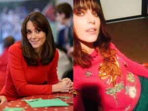 Kate Middleton-Miriam Leone: passione frangia FOTO
