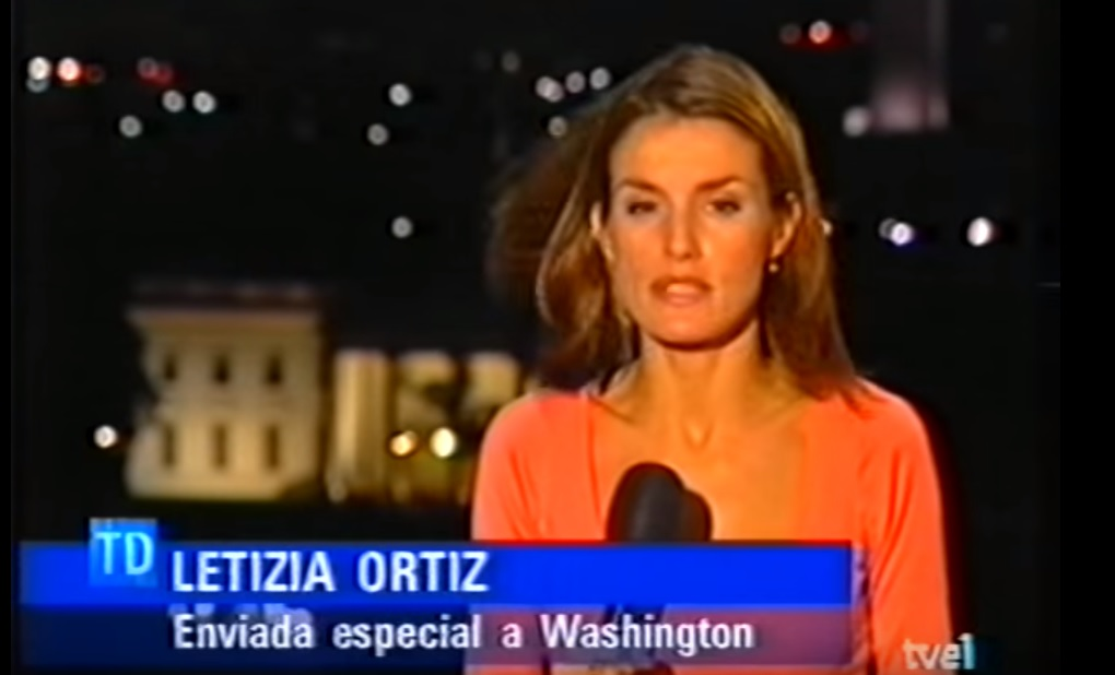 Letizia Ortiz prima: FOTO nel 2001 quando era inviata al Tg