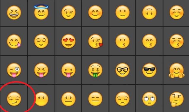 WhatsApp: emoticon a luci rosse (che nessuno conosce)