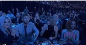 Justin Bieber canta: la reazione di Taylor Swift fa discutere