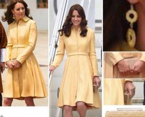 Kate Middleton news: cappotto giallo riciclato FOTO