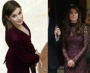 Kate Middleton, Letizia Ortiz: gara di eleganza FOTO