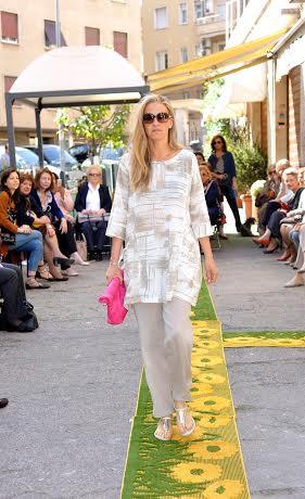 Letizia Morini: a Roma la sfilata delle clienti-modelle FOTO