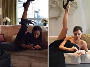 """Victoria Bekham, FOTO mentre fa spaccata: """"Lezioni danza fanno effetto"""""""