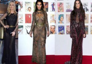 Kate Moss, Kim Kardashian, Demi Moore al party Vogue FOTO