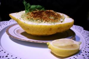 Seppie e Gamberi al Profumo di Limone