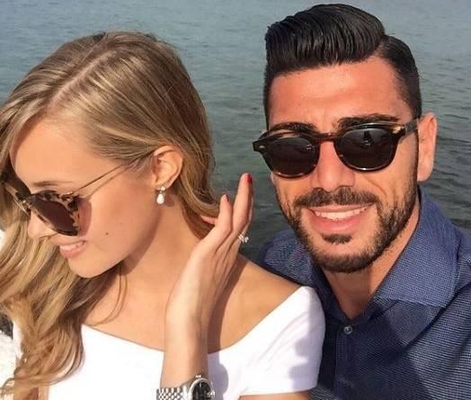 Graziano Pellè, chi è la fidanzata Viky Varga FOTO