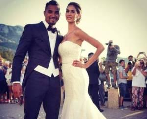 Melissa Satta e Boateng matrimonio FOTO: incidente dopo nozze