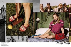 Amanda Seyfried nuova protagonista della campagna Miu Miu