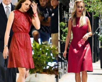 Charlotte Casiraghi, Rita Ora le copia in look FOTO