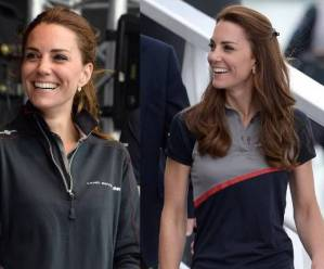 Kate Middleton sporty chic: jeans skinny, polo e zeppe FOTO