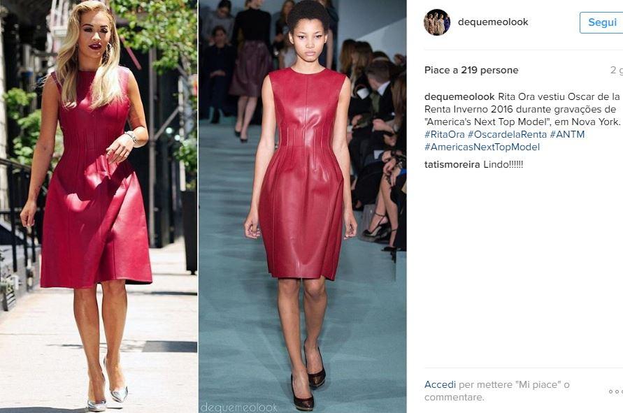 Charlotte Casiraghi, Rita Ora le copia in look. La cantante inglese di origine albanese, 25 anni, ha indossato un abito che non è passato inosservato.