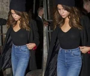 Selena Gomez eccessiva? Top nero trasparente... FOTO