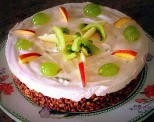 Cheesecake con Riso Soffiato alla Fragola