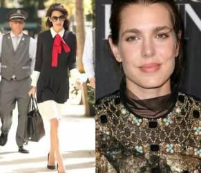 Charlotte Casiraghi, Amal Alamuddin: look Gucci a confronto