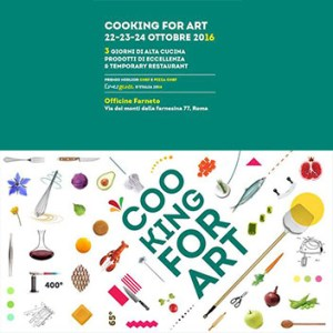Cooking For Art arriva a Roma la Finalissima Emergente 2016