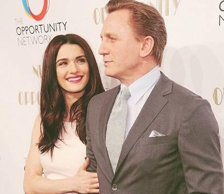 Daniel Craig, chi è la moglie Rachel Weisz FOTO