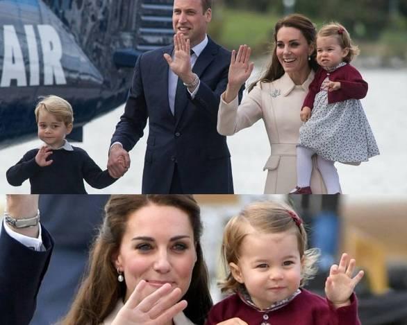 Kate Middleton: George, che spasso! Sale sull'aereo e... FOTO