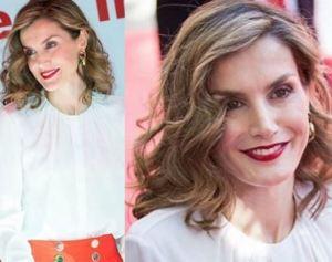 Letizia Ortiz impeccabile: pantaloni rossi e tacchi bassi FOTO